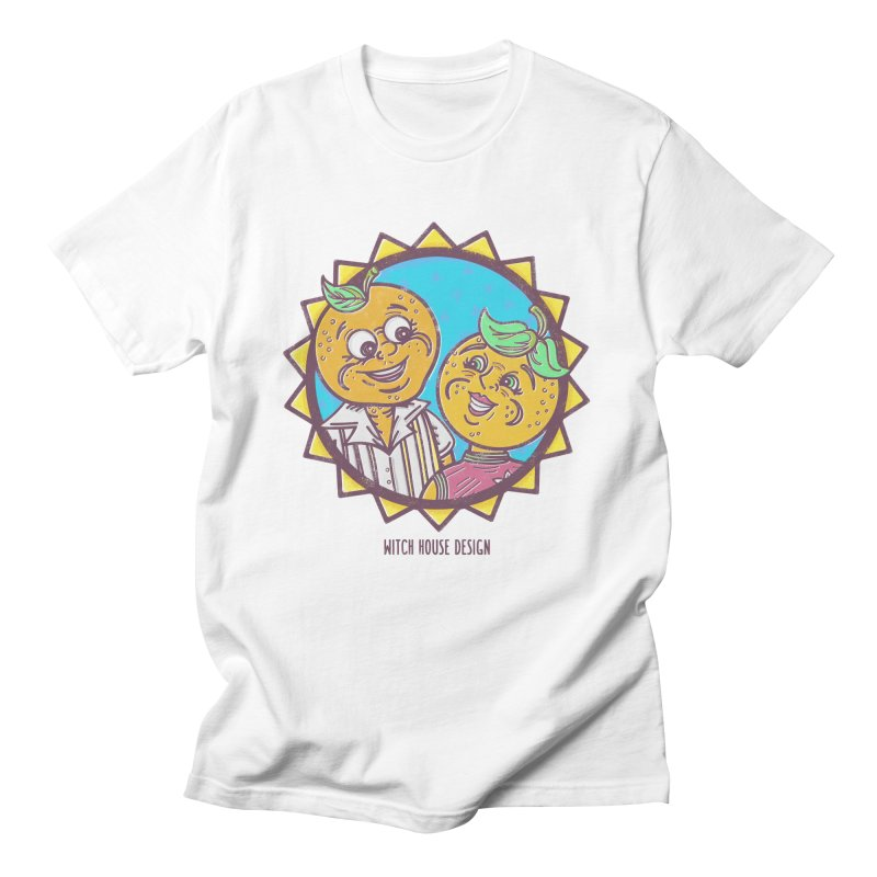 Sun-sational Oranges Men's Regular T-Shirt by Witch House Design