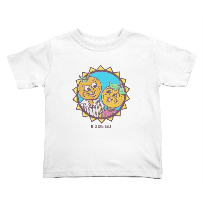Sun-sational Oranges Kids Toddler T-Shirt by Witch House Design