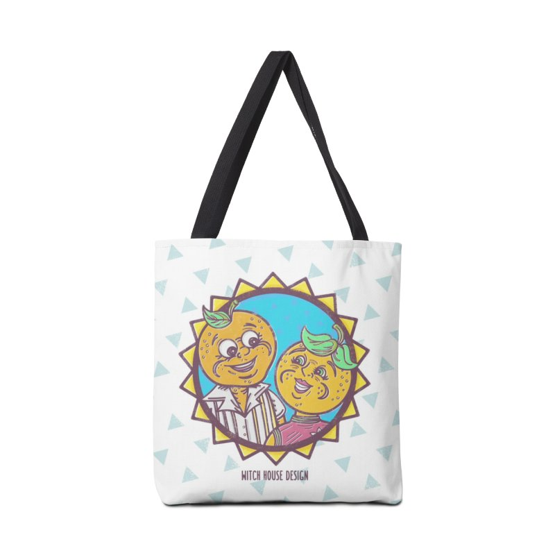 Sun-sational Oranges Accessories Tote Bag Bag by Witch House Design