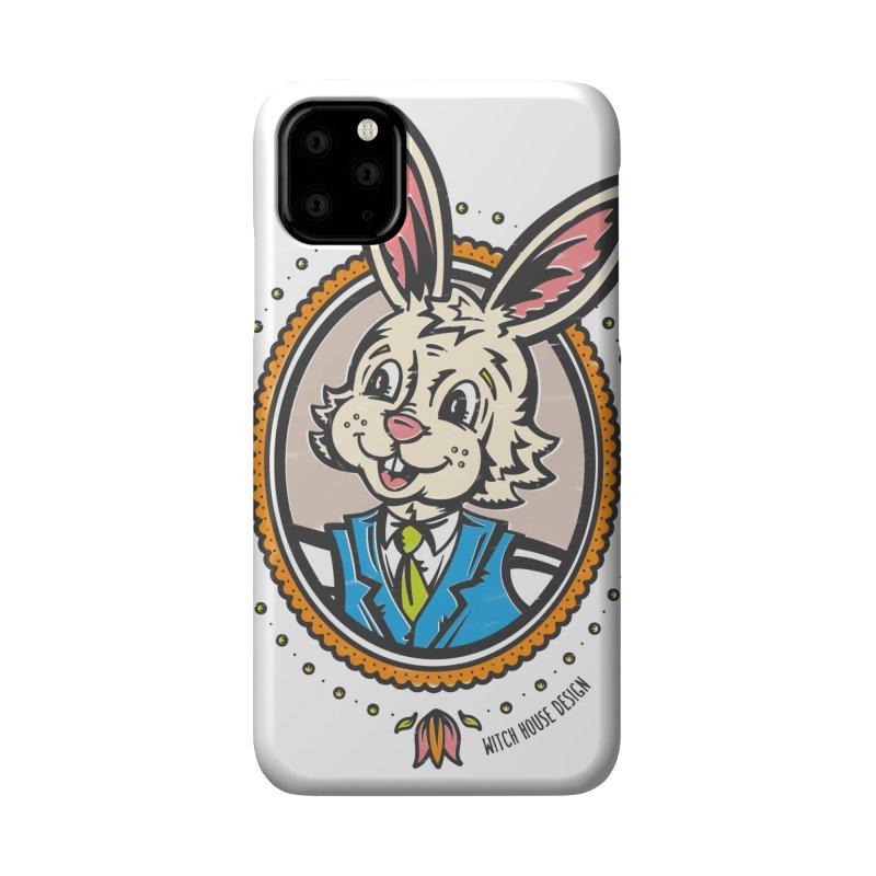 Mr. Rabbit Portrait Accessories Phone Case by Witch House Design