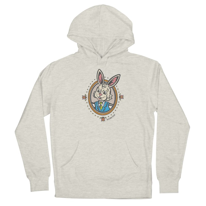Mr. Rabbit Portrait Men's Pullover Hoody by Witch House Design