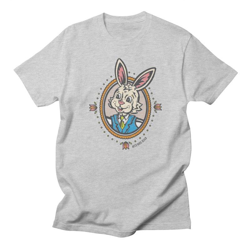 Mr. Rabbit Portrait Women's Regular Unisex T-Shirt by Witch House Design