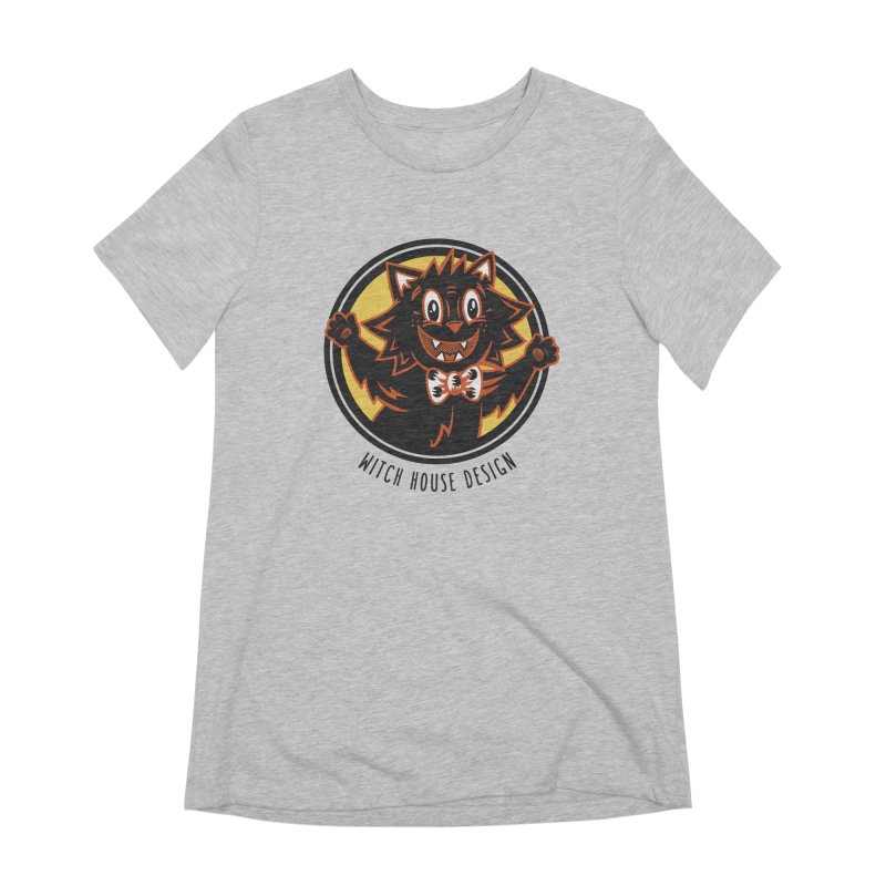 Stitious Women's Extra Soft T-Shirt by Witch House Design