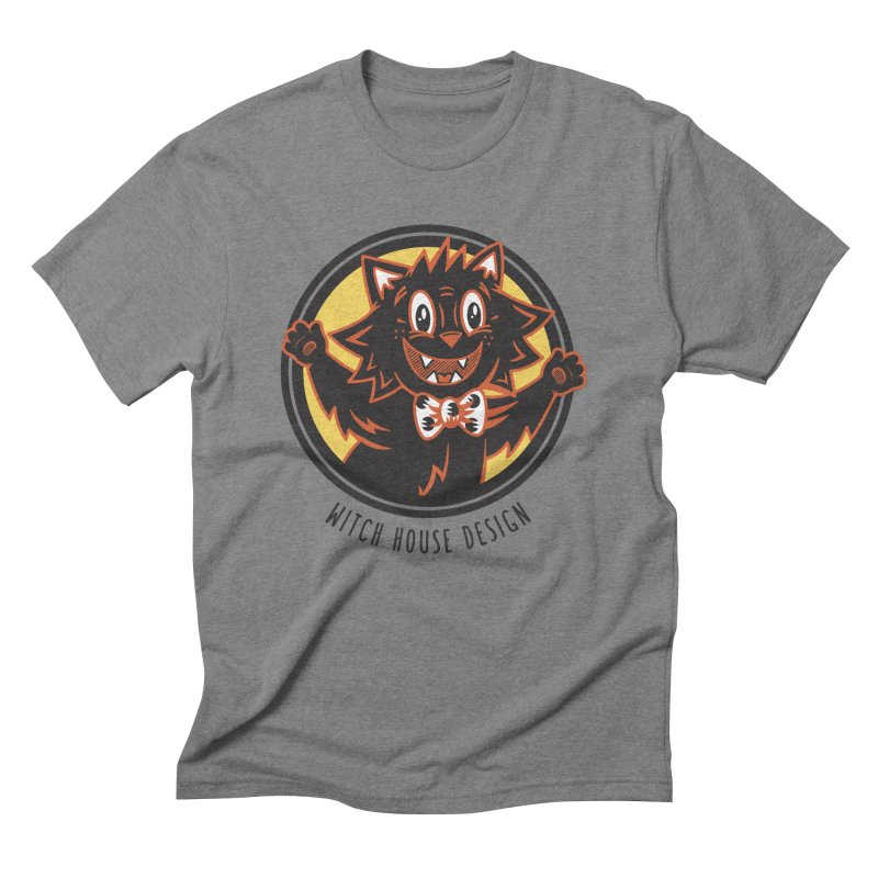 Stitious Men's T-Shirt by Witch House Design