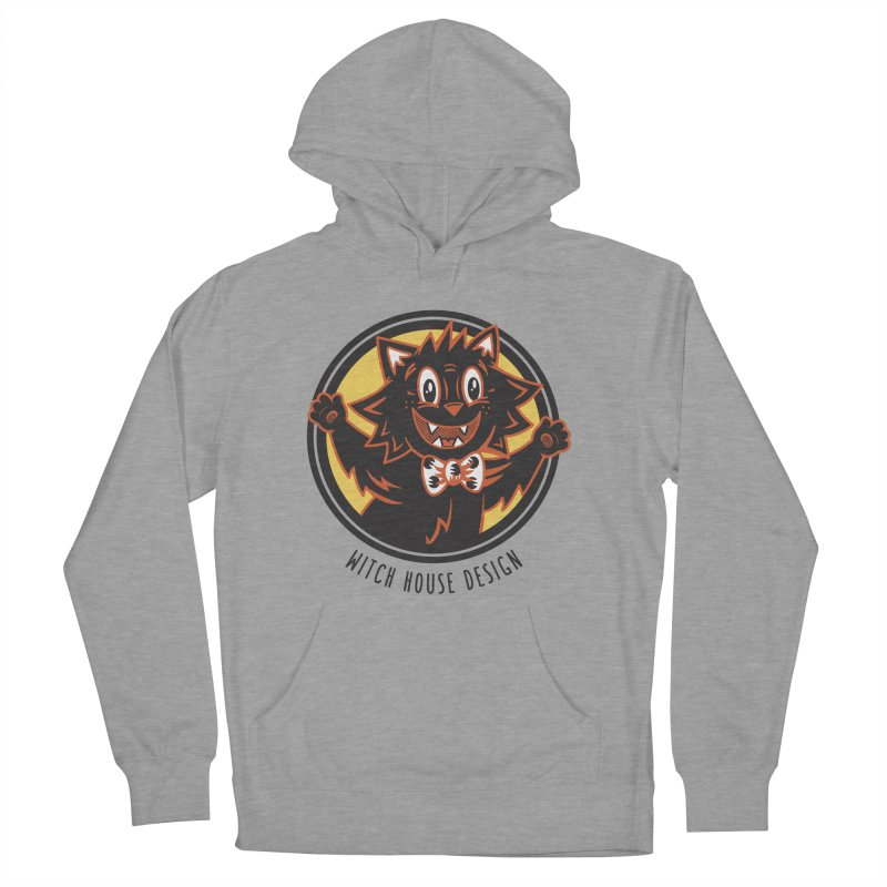 Stitious Men's French Terry Pullover Hoody by Witch House Design
