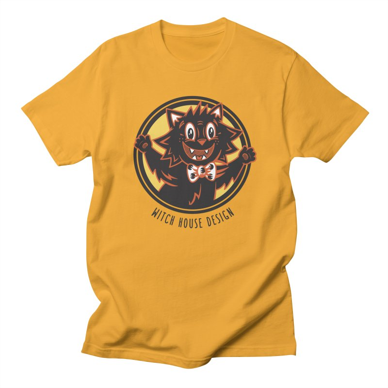 Stitious Men's Regular T-Shirt by Witch House Design