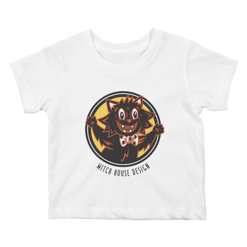 Stitious Kids Baby T-Shirt by Witch House Design