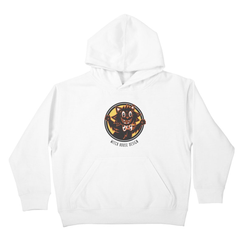 Stitious Kids Pullover Hoody by Witch House Design