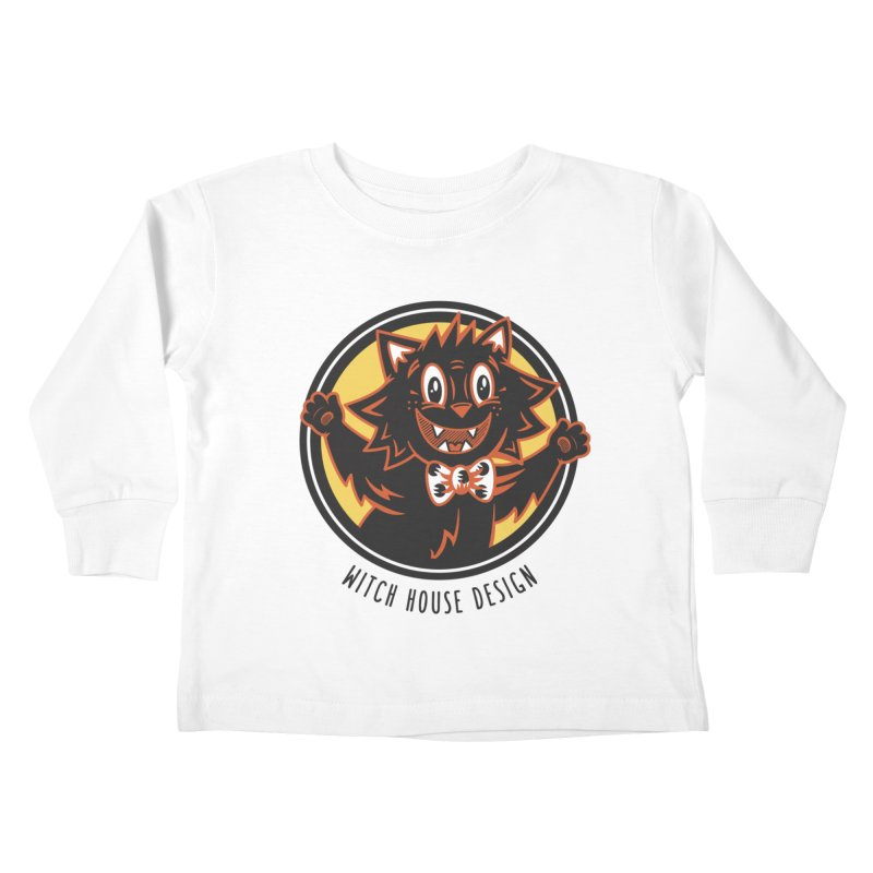 Stitious Kids Toddler Longsleeve T-Shirt by Witch House Design