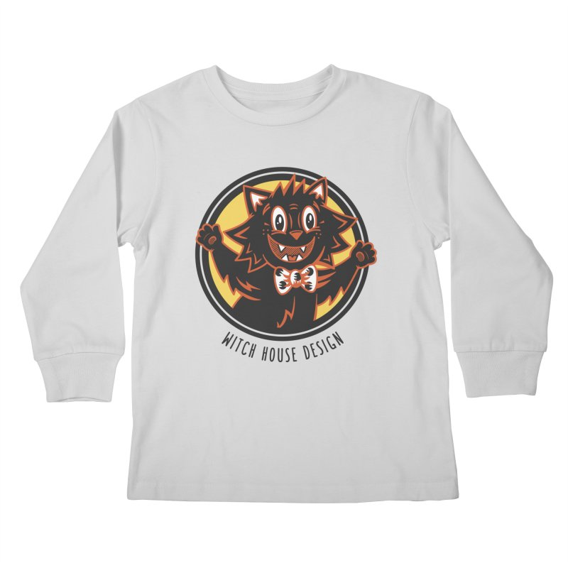 Stitious Kids Longsleeve T-Shirt by Witch House Design