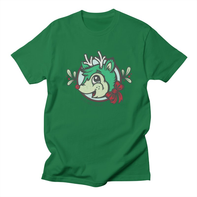 Happy Holi-Deer! Women's Regular Unisex T-Shirt by Witch House Design