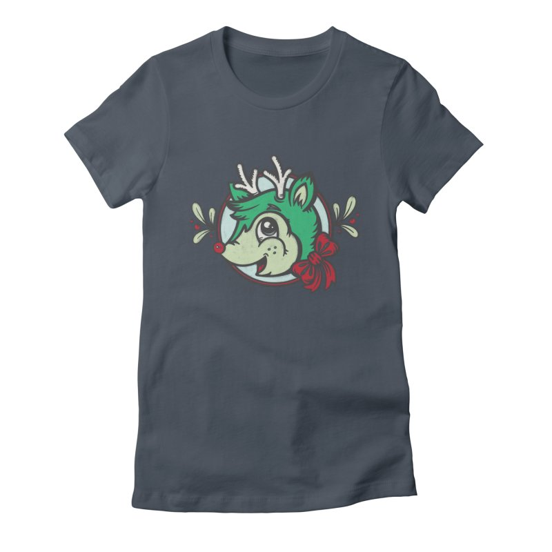 Happy Holi-Deer! Women's T-Shirt by Witch House Design