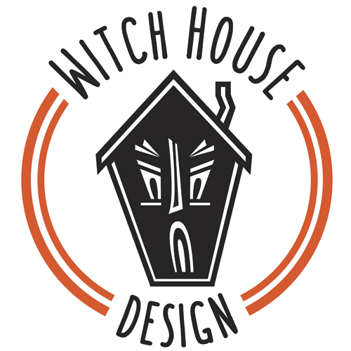 Witch House Design Logo