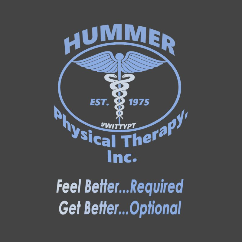 Hummer Physical Therapy (blue) by A WittyPT's Artist Shop
