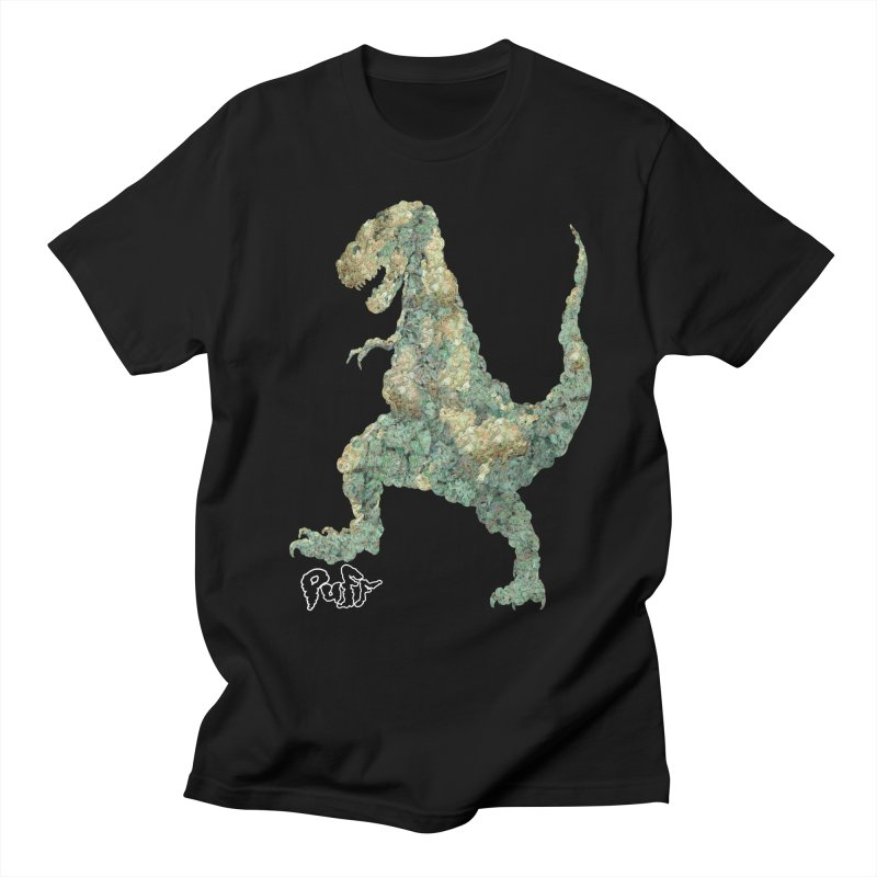 THC-REX in Men's T-shirt Black by wizardfart's Artist Shop