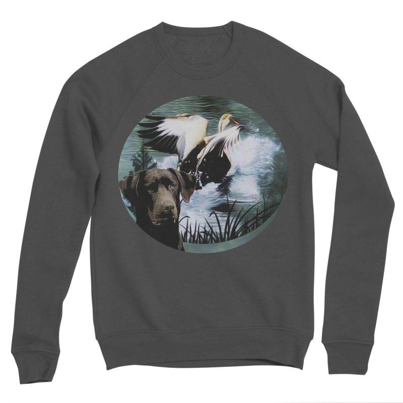 Dog n Duck Men's Sponge Fleece Sweatshirt by #woctxphotog's Artist Shop