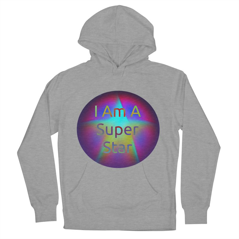Super Star Women's French Terry Pullover Hoody by #woctxphotog's Artist Shop