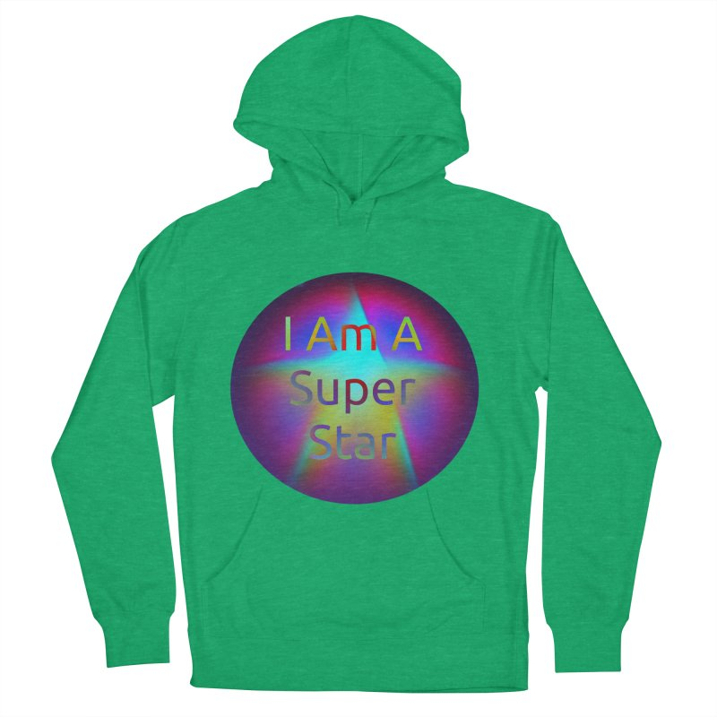 Super Star Men's French Terry Pullover Hoody by #woctxphotog's Artist Shop