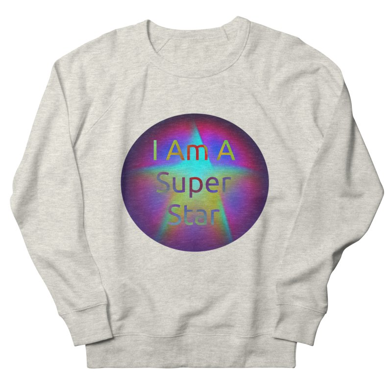 Super Star Women's French Terry Sweatshirt by #woctxphotog's Artist Shop