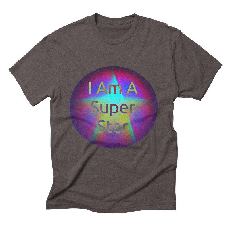 Super Star Men's Triblend T-shirt by #woctxphotog's Artist Shop
