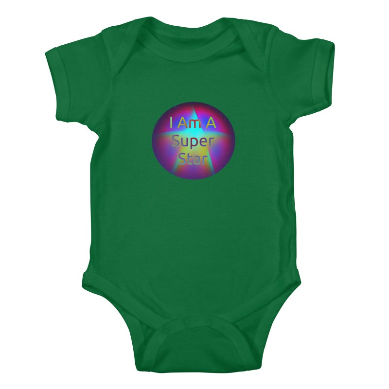 Super Star Kids Baby Bodysuit by #woctxphotog's Artist Shop