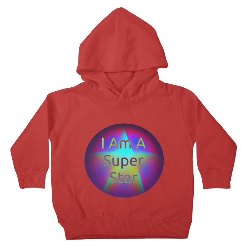 Super Star Kids Toddler Pullover Hoody by #woctxphotog's Artist Shop