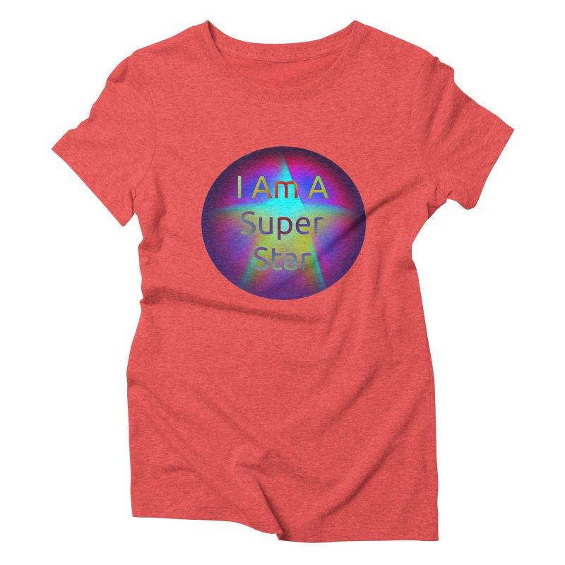 Super Star Women's Triblend T-Shirt by #woctxphotog's Artist Shop