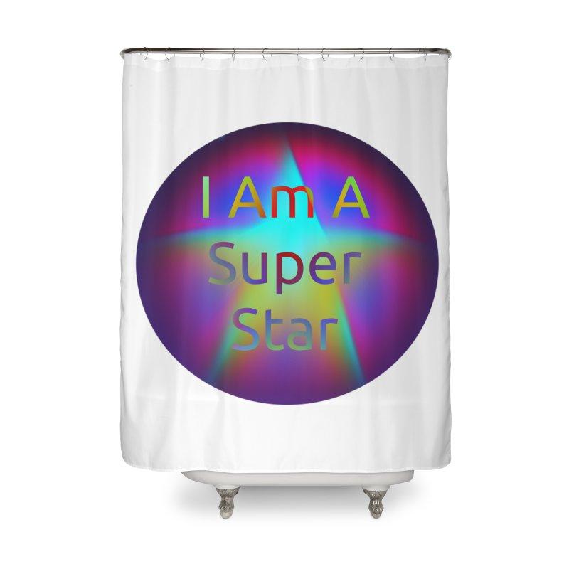 Super Star Home Shower Curtain by #woctxphotog's Artist Shop