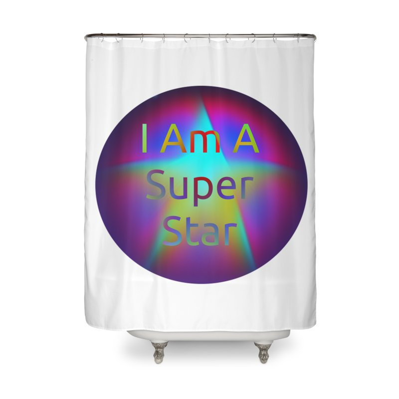 Super Star Home Shower Curtain by #woctxphotog's Artist Shop