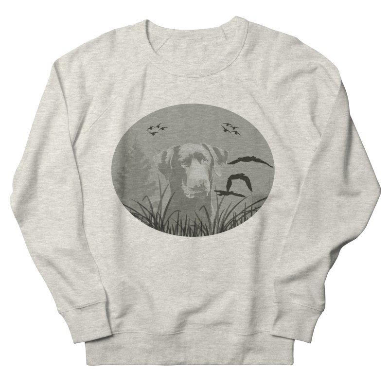 Lab Women's French Terry Sweatshirt by #woctxphotog's Artist Shop