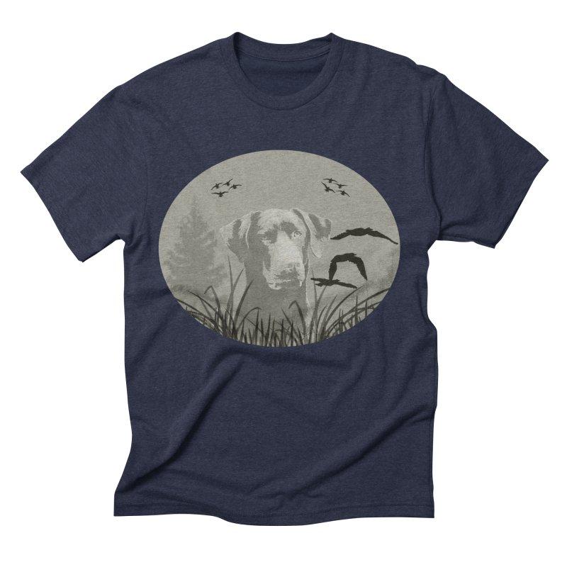 Lab Men's Triblend T-Shirt by #woctxphotog's Artist Shop