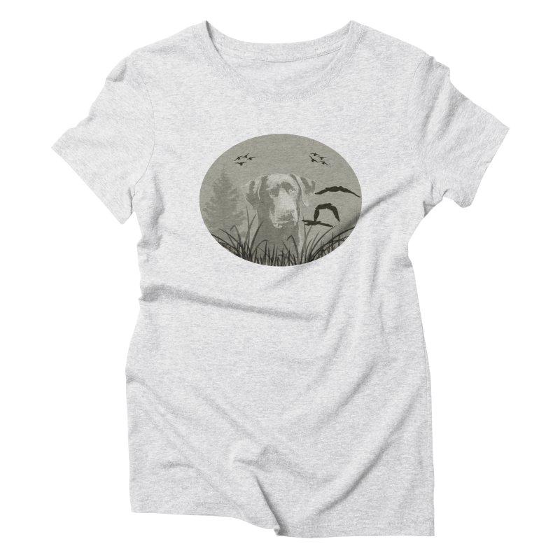 Lab Women's Triblend T-Shirt by #woctxphotog's Artist Shop
