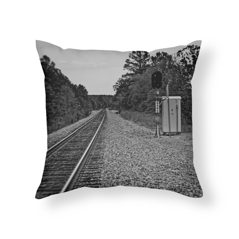 Tracks Home Throw Pillow by #woctxphotog's Artist Shop