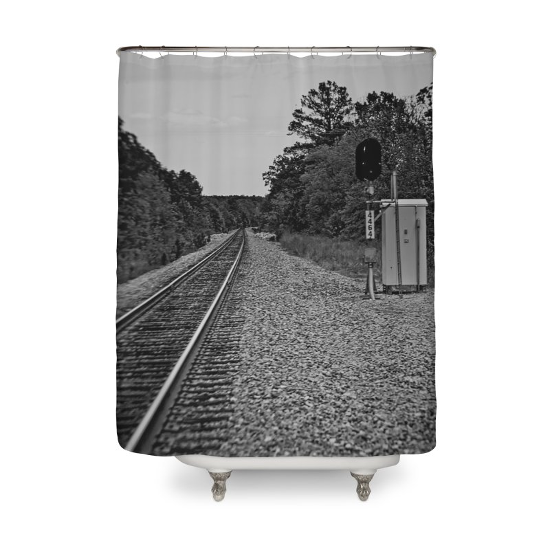 Tracks Home Shower Curtain by #woctxphotog's Artist Shop