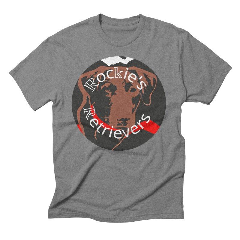 Rockies Retrievers Men's T-Shirt by #woctxphotog's Artist Shop
