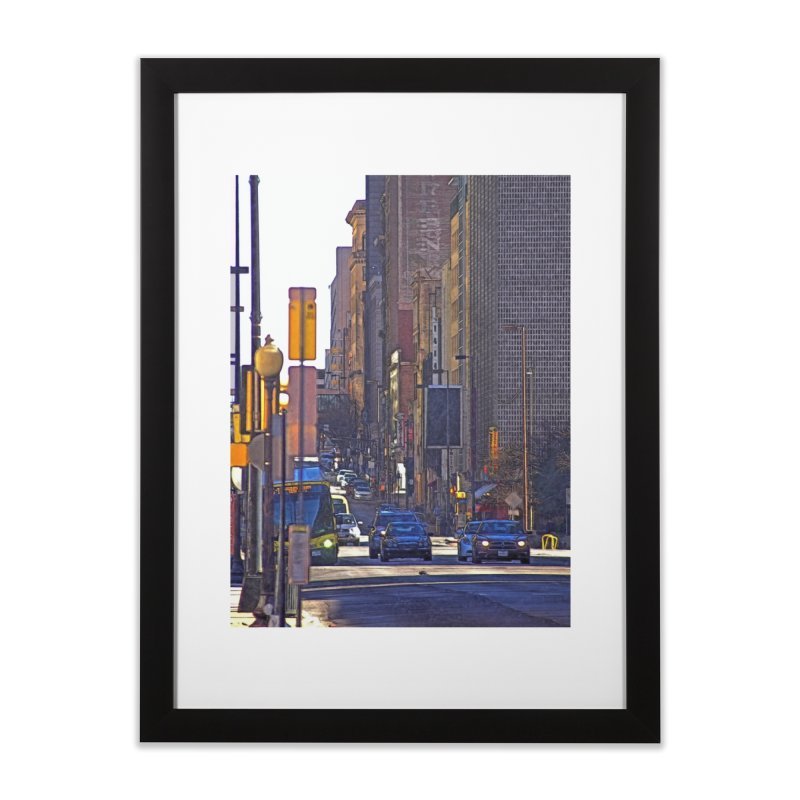 Looking Downtown  Home Framed Fine Art Print by #woctxphotog's Artist Shop