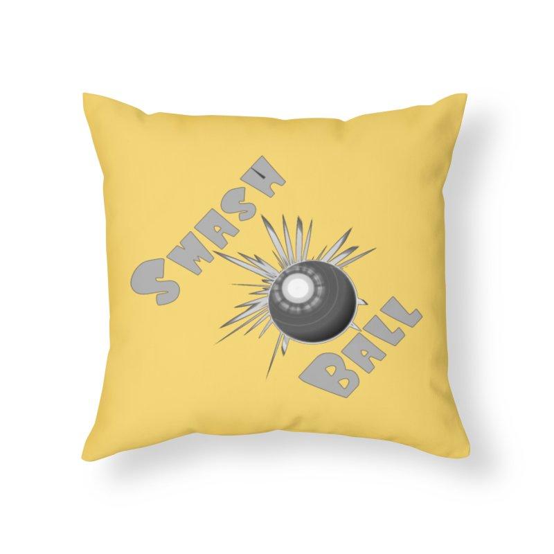 Smash Ball Home Throw Pillow by #woctxphotog's Artist Shop