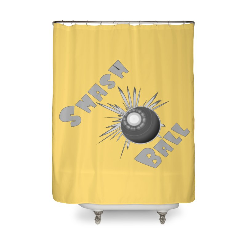 Smash Ball Home Shower Curtain by #woctxphotog's Artist Shop