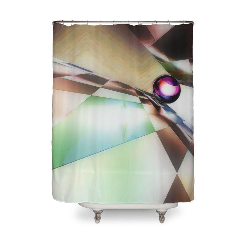 Corner Pocket Home Shower Curtain by #woctxphotog's Artist Shop