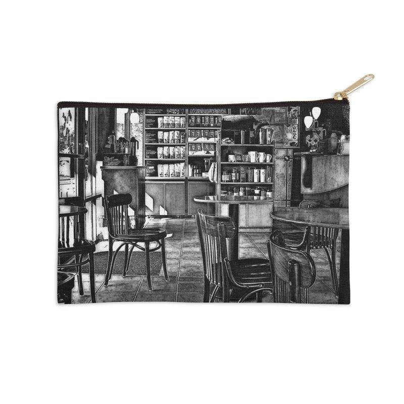 Coffee Shop Accessories Zip Pouch by #woctxphotog's Artist Shop
