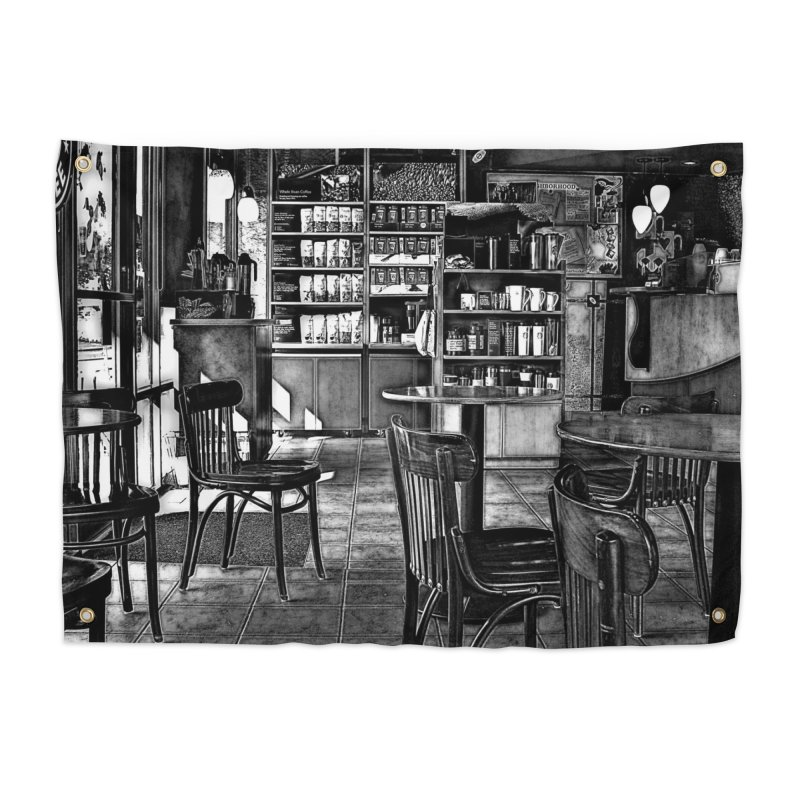 Coffee Shop Home Tapestry by #woctxphotog's Artist Shop