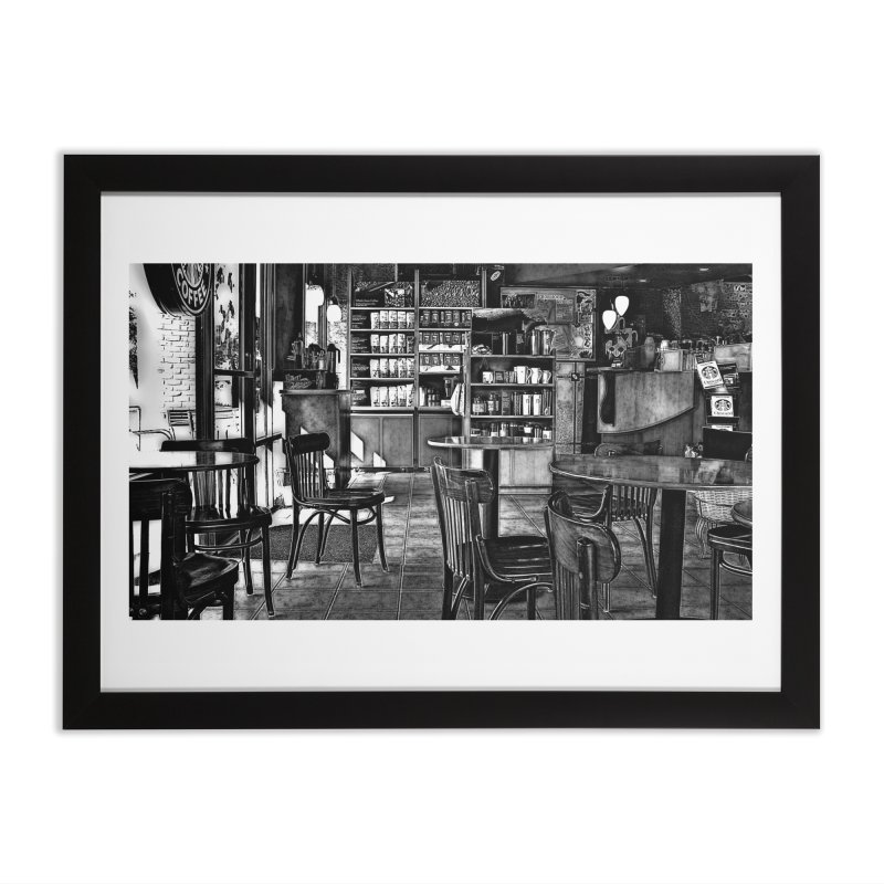 Coffee Shop Home Framed Fine Art Print by #woctxphotog's Artist Shop