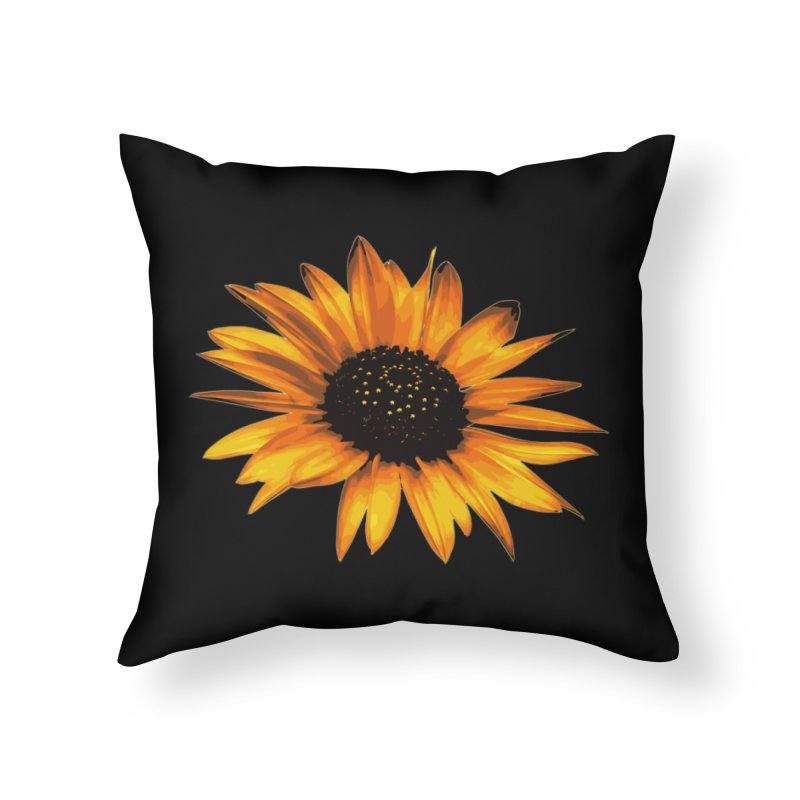 Be Happy Home Throw Pillow by #woctxphotog's Artist Shop