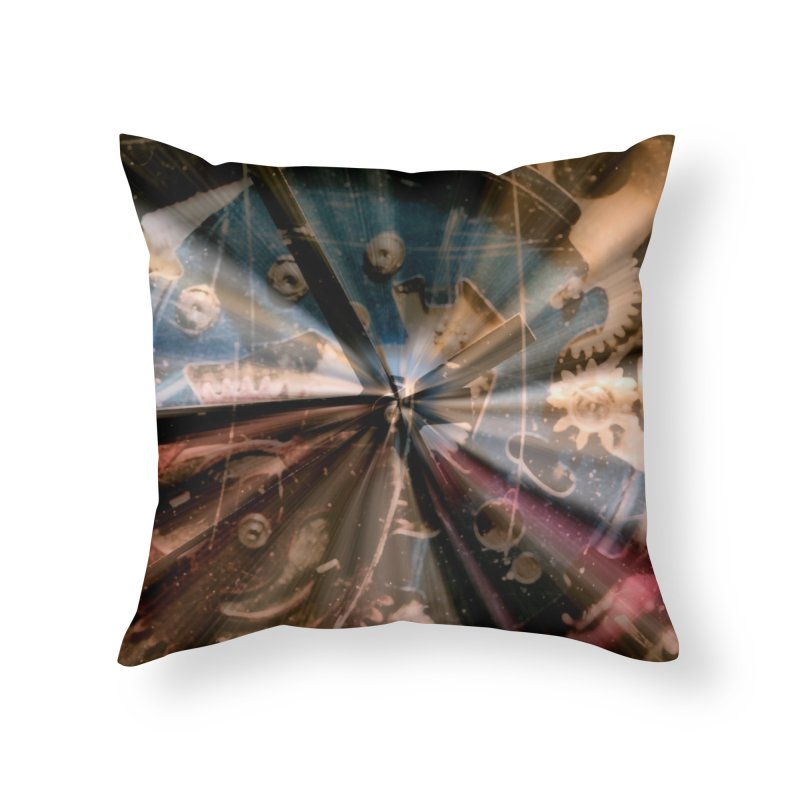 Wasted Time Home Throw Pillow by #woctxphotog's Artist Shop