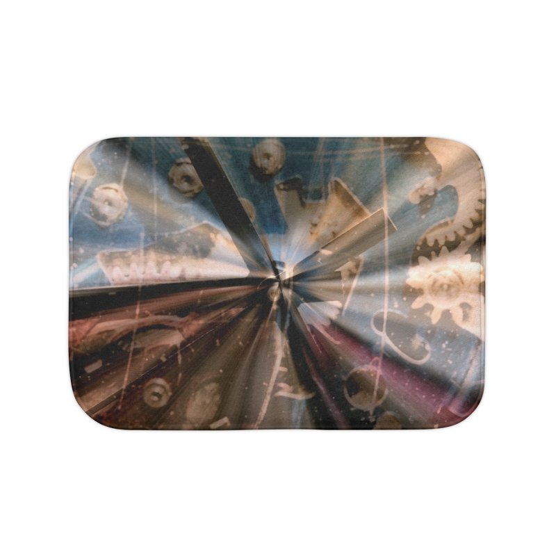 Wasted Time Home Bath Mat by #woctxphotog's Artist Shop