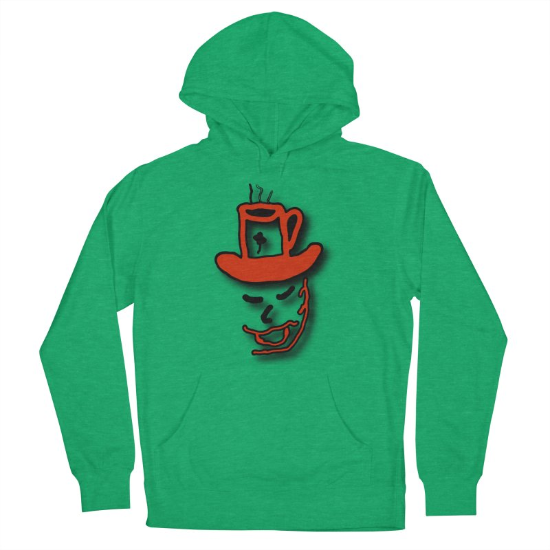 Coffee Hat Man Women's French Terry Pullover Hoody by #woctxphotog's Artist Shop