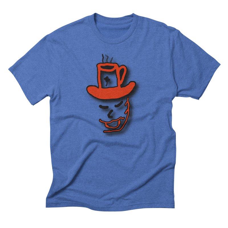 Coffee Hat Man Men's T-Shirt by #woctxphotog's Artist Shop