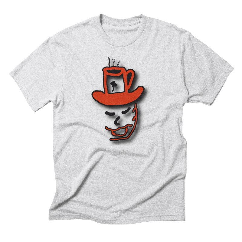 Coffee Hat Man Men's Triblend T-Shirt by #woctxphotog's Artist Shop