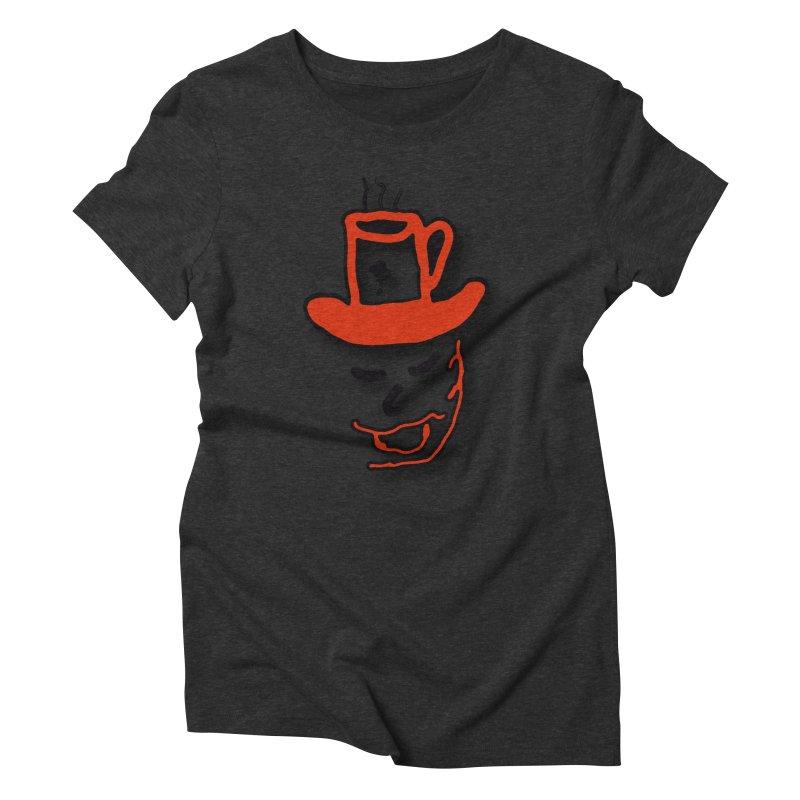Coffee Hat Man Women's Triblend T-Shirt by #woctxphotog's Artist Shop