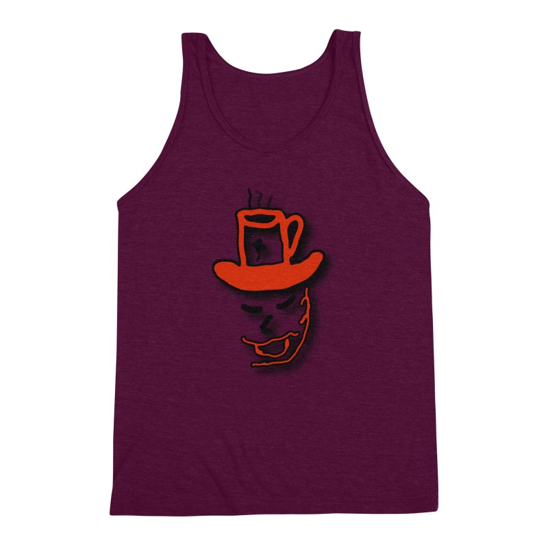 Coffee Hat Man Men's Triblend Tank by #woctxphotog's Artist Shop